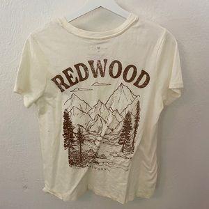 Redwood california t shirt